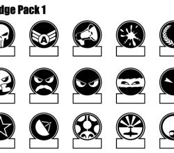 Vector Badge Illustrator Pack
