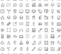 Streamline Icons: 100 Free iOS7 Icons