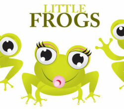 Little Frogs Vector