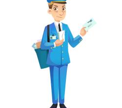 Mailman Free Vector Image