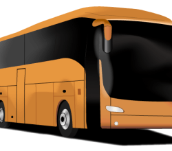 Free Tourism Bus Vector Art
