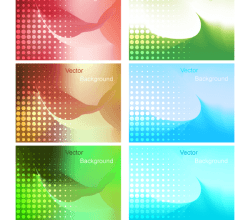 Gradient Mesh Background Vector Illustration
