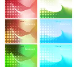 Gradient Mesh Background Vector Illustration