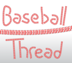 Vector Baseball Threads Illustrator Brushes