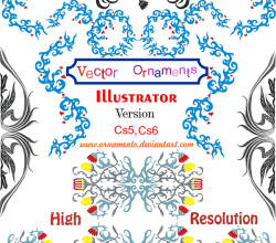 Ornaments Corel Draw