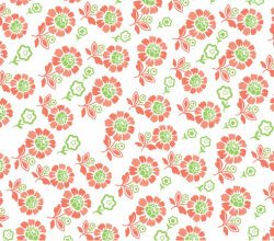 Seamless Plume Pattern