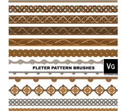 Pleter Pattern Illustrator Brushes