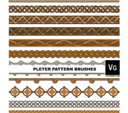 Pleter Pattern Illustrator Brushes