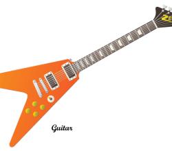 Guitar Vector Free Image