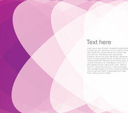 Pink Gradient Abstract Background Design Vector