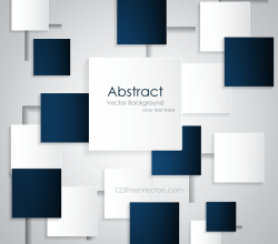 Abstract Square Background Design Template