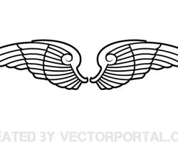 Vector Wings Art