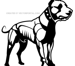 Dog Clip Art Vector