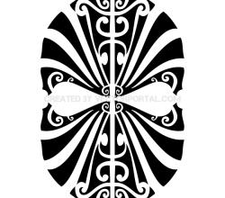 Vector Tribal Mask