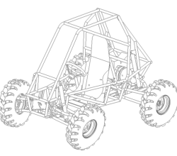 Dune Buggy Illustration