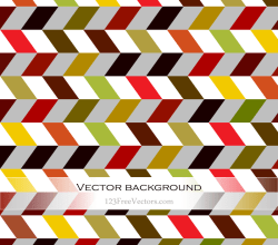 Colorful Zigzag Wallpaper Vector
