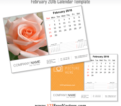 February 2016 Calendar Template
