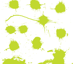 Free Color Splash Vector Art