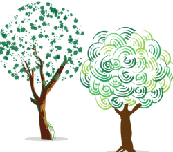Green Tree Free Vector Art
