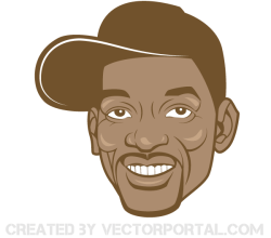 Will Smith Vector Image