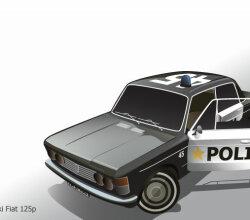 Fiat Car Vector