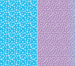 Snowflakes and Rain Drops Background Free Vector