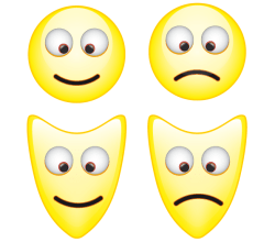Vector Smiley Mask Icons