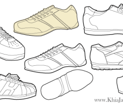 Free Vector Sneakers