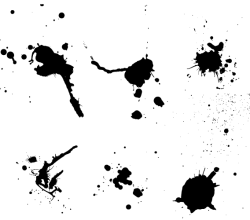 Paint Splash Vector Art