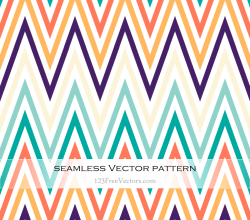 Colorful Chevron Pattern Background Download