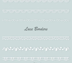 Vector Lace Border