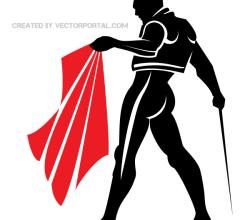 Matador Clip Art Image