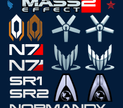 Vector Mass Effect Logo