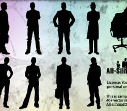 Man Silhouettes Vector Pack