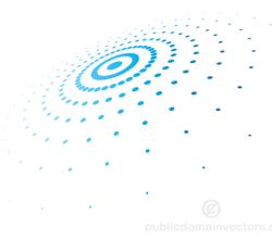 Abstract Circular Halftone Pattern Vector