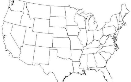 Printable Blank Maps United States iKids | Hot Trending Now