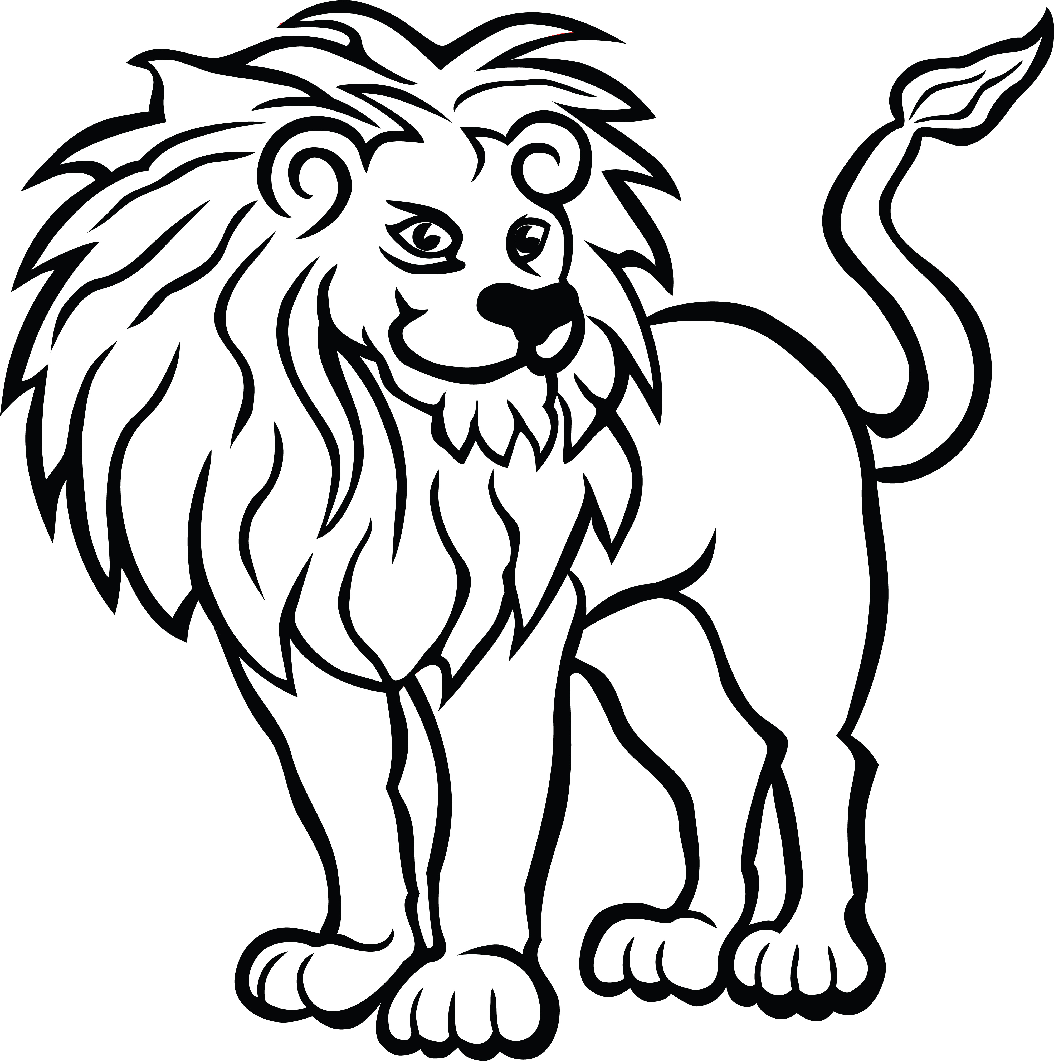 Free Clipart Of A Lion