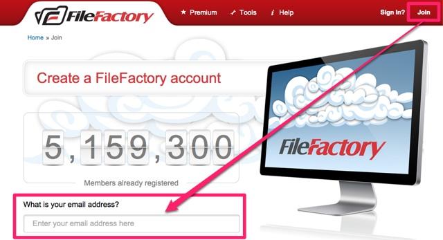[教學] 如何用 FileFactory 提供的 500 GB 超大免費空間上傳、分享及下載檔案?