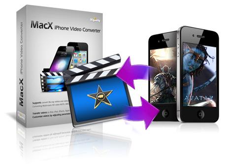 MacX iPhone Video Converter 在 Mac 裡將影片轉為 iPhone、iPod 和 iPad 支援的格式,限時免費下載(含序號)