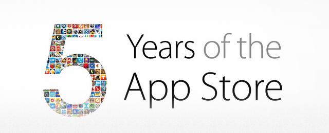 歡慶 App Store 五週年,多項遊戲及應用程式限時免費下載!