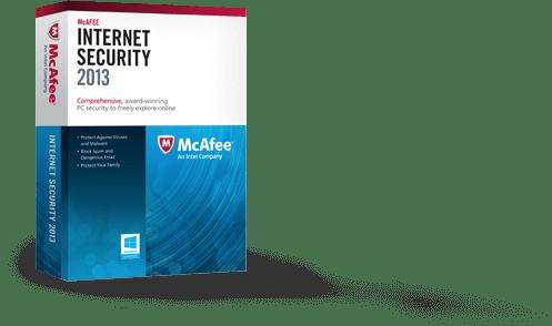 免費獲取 McAfee Internet Security 2013 中文版防毒軟體(一年份) via @freegroup