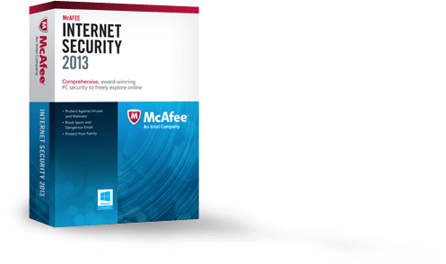 免費獲取 McAfee Internet Security 2013 防毒軟體(一年份)