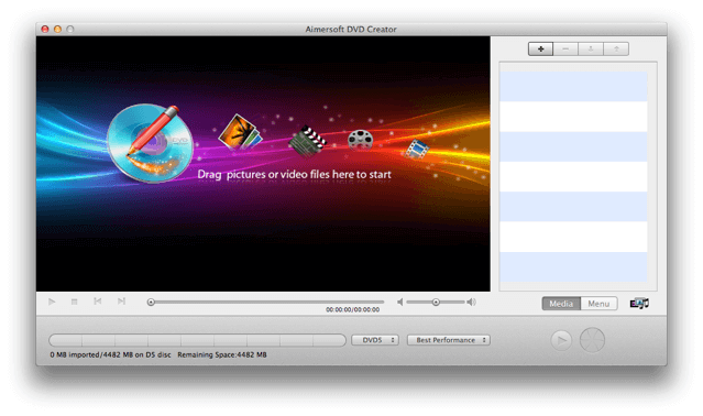 Aimersoft DVD Creator:DVD 製作、燒錄軟體,限時免費下載(Windows、Mac 版)