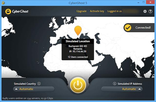 CyberGhost 5 VPN 免費一年份升級帳戶,無頻寬、流量限制,可用於 iOS、Android 裝置 via @freegroup