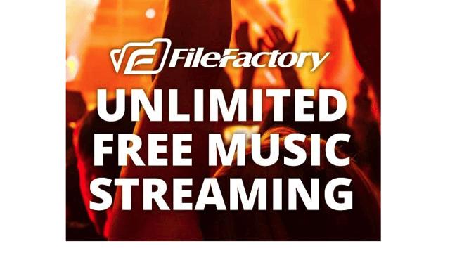 FileFactory 推出 MP3 音樂串流功能,可從網頁直接播放音樂檔(免費帳戶適用)