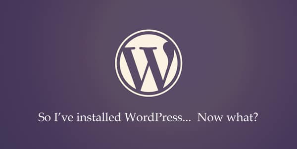 安裝 WordPress 後你應該做的 25 件事 via @freegroup
