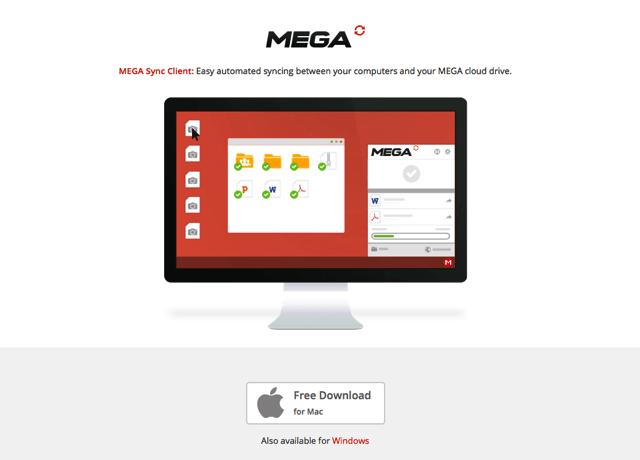 MEGAsync 同步工具 Mac 版免費下載,快速將檔案備份至雲端硬碟