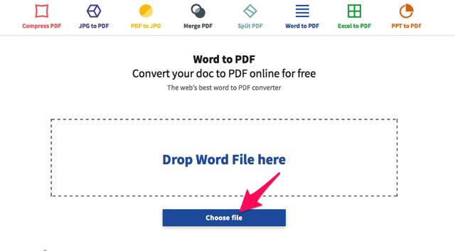 Smallpdf.com 線上 PDF 轉檔、合併、分割、壓縮工具,輕鬆解決 PDF 疑難雜症