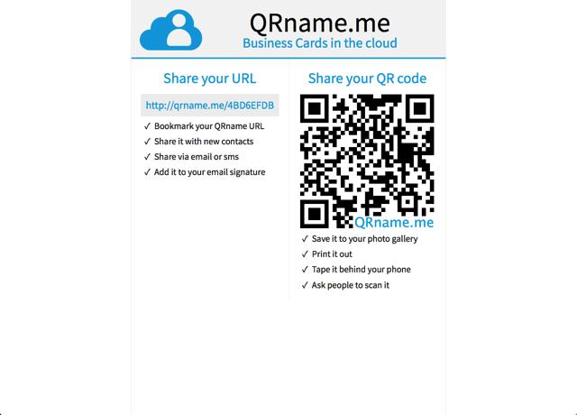 QRname.me