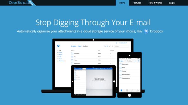 OneBox 自動將 Email 附件轉存、備份到你的雲端硬碟